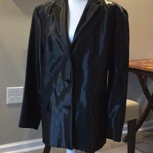 Oscar de la Renta…Shiny Black Blazer